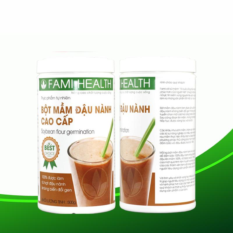 Mầm đậu nành Fami Health có tốt không? Review chi tiết